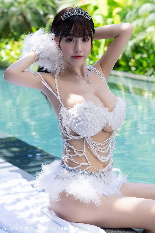 [XiuRen] Vol.2282 Zhu Ke Er Flower 1P, Bikini, Swim Pool, Xiuren, Zhu Ke Er