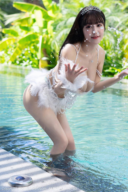 [XiuRen] Vol.2282 Zhu Ke Er Flower 44P, Bikini, Swim Pool, Xiuren, Zhu Ke Er