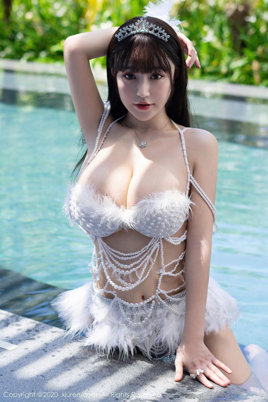 [XiuRen] Vol.2282 Zhu Ke Er Flower 45P, Bikini, Swim Pool, Xiuren, Zhu Ke Er