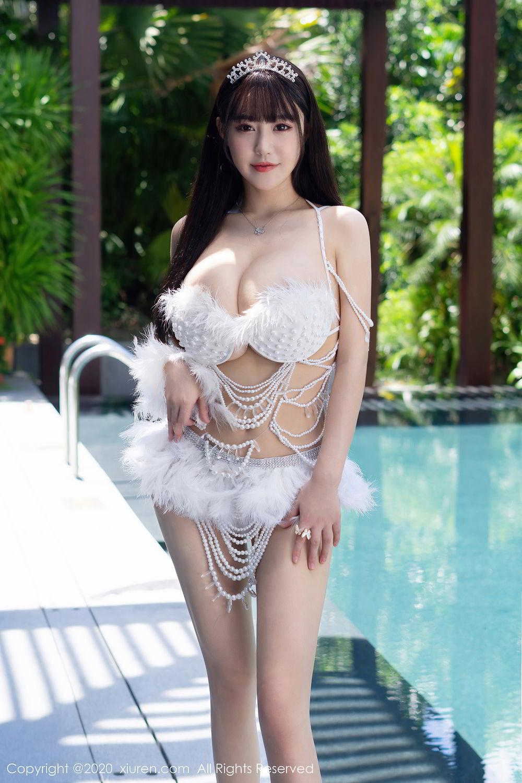 [XiuRen] Vol.2282 Zhu Ke Er Flower 56P, Bikini, Swim Pool, Xiuren, Zhu Ke Er