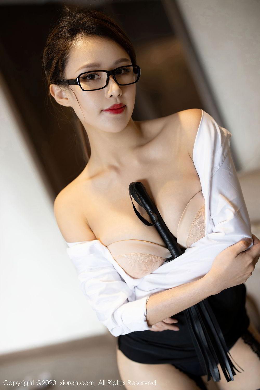[XiuRen] Vol.2285 Xu An An 21P, Black Silk, Uniform, Xiuren, Xu An An
