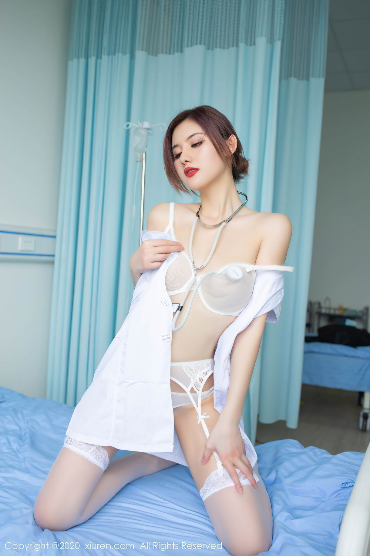 [XiuRen] Vol.2286 Jiu Shi A Zhu 70P, Jiu Shi A Zhu, Nurse, Tall, Xiuren