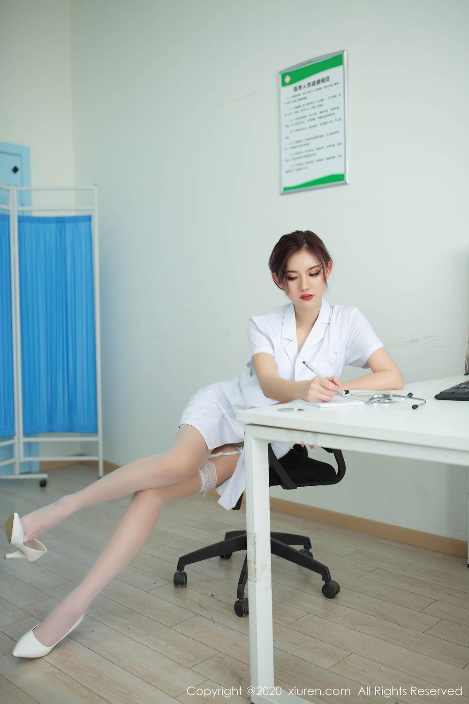 [XiuRen] Vol.2286 Jiu Shi A Zhu 8P, Jiu Shi A Zhu, Nurse, Tall, Xiuren