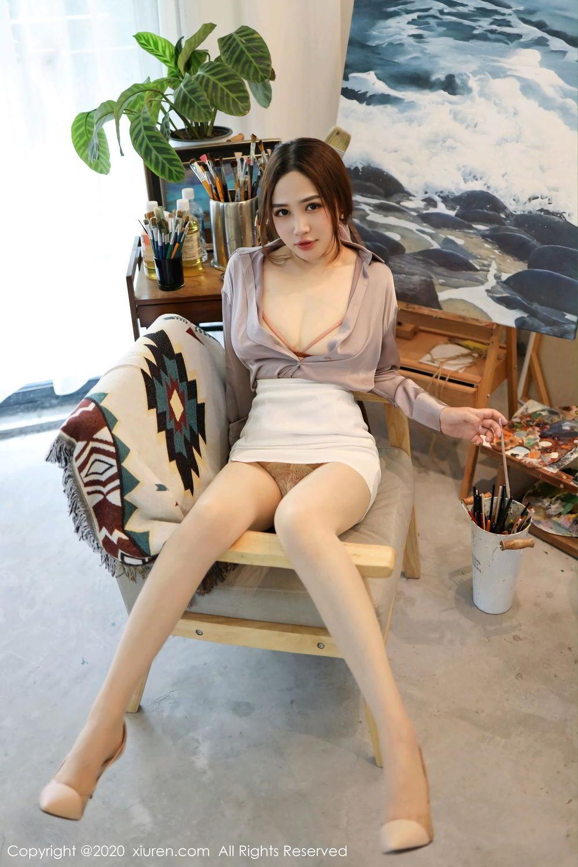 [XiuRen] Vol.2288 Xu Cake 15P, Underwear, Xiuren, Xu Cake