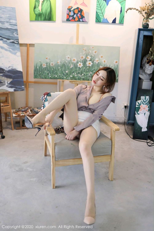 [XiuRen] Vol.2288 Xu Cake 32P, Underwear, Xiuren, Xu Cake