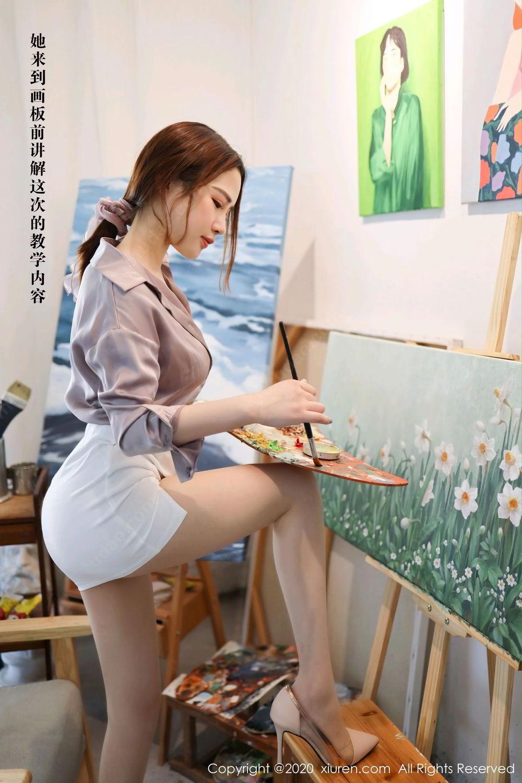 [XiuRen] Vol.2288 Xu Cake 6P, Underwear, Xiuren, Xu Cake