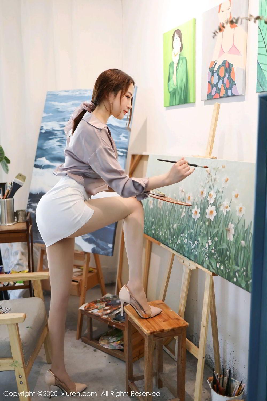 [XiuRen] Vol.2288 Xu Cake 7P, Underwear, Xiuren, Xu Cake