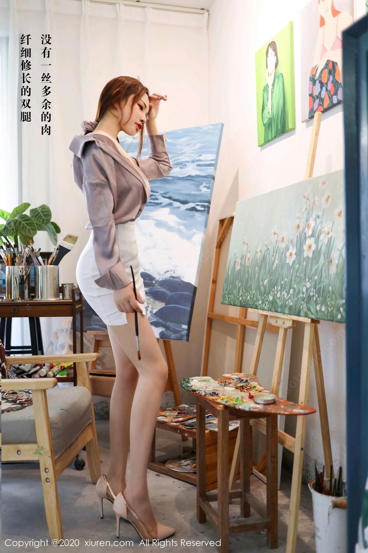 [XiuRen] Vol.2288 Xu Cake 8P, Underwear, Xiuren, Xu Cake