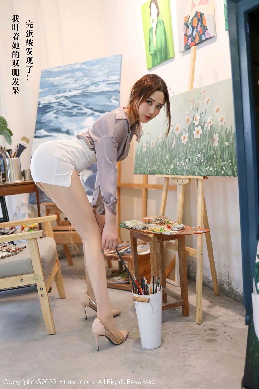 [XiuRen] Vol.2288 Xu Cake 9P, Underwear, Xiuren, Xu Cake