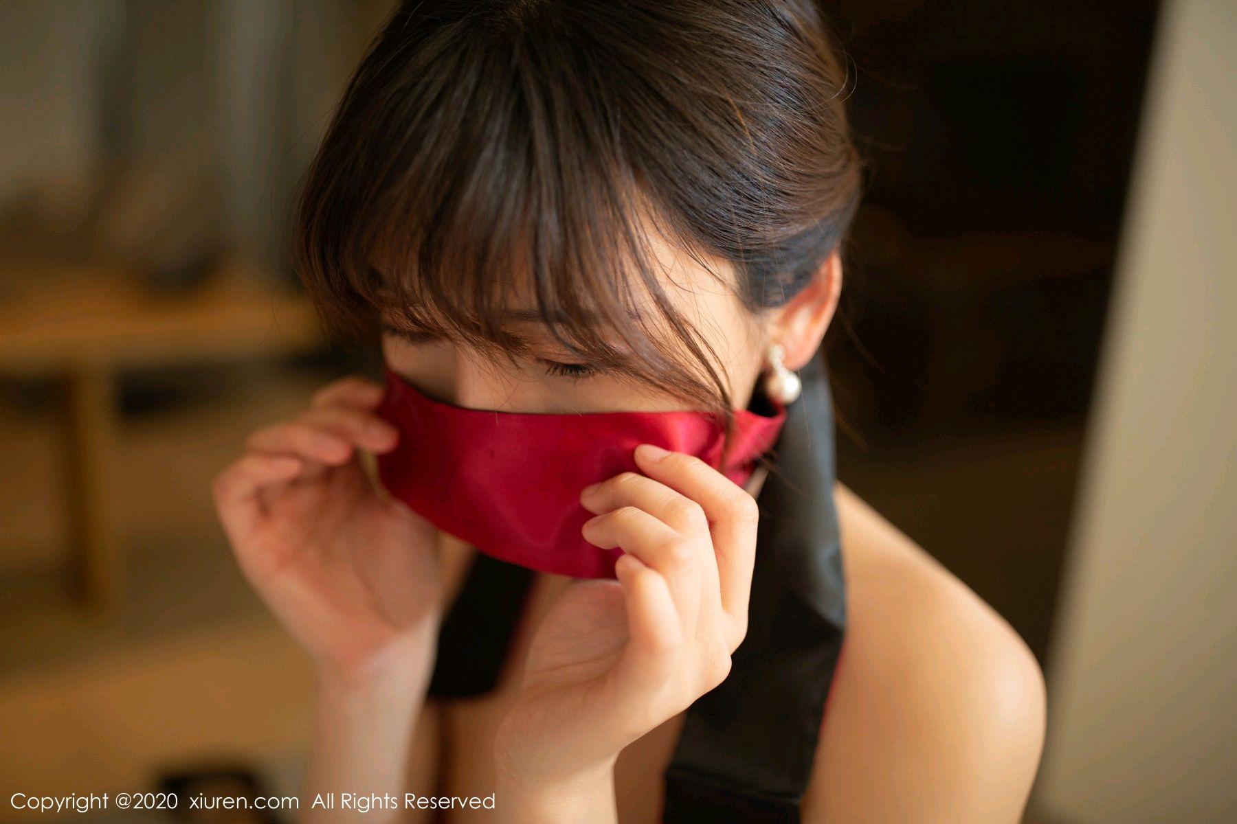 [XiuRen] Vol.2289 Lu Xuan Xuan 65P, Black Silk, Cheongsam, Lu Xuan Xuan, Underwear, Xiuren