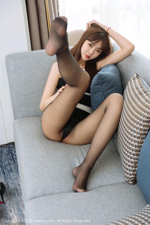 [XiuRen] Vol.2299 Ke Le Vicky 15P, Black Silk, Ke Le Vicky, Pure, Tall, Xiuren