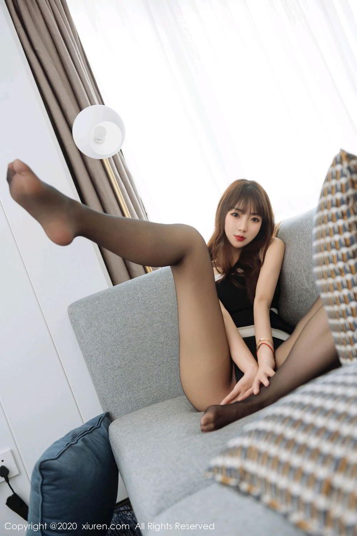 [XiuRen] Vol.2299 Ke Le Vicky 27P, Black Silk, Ke Le Vicky, Pure, Tall, Xiuren