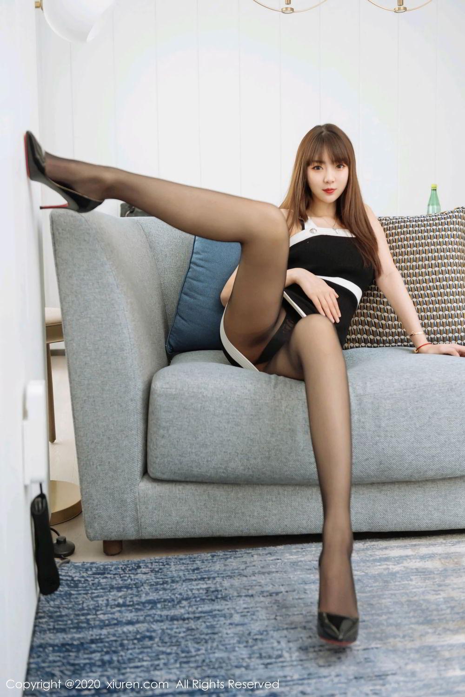 [XiuRen] Vol.2299 Ke Le Vicky 45P, Black Silk, Ke Le Vicky, Pure, Tall, Xiuren