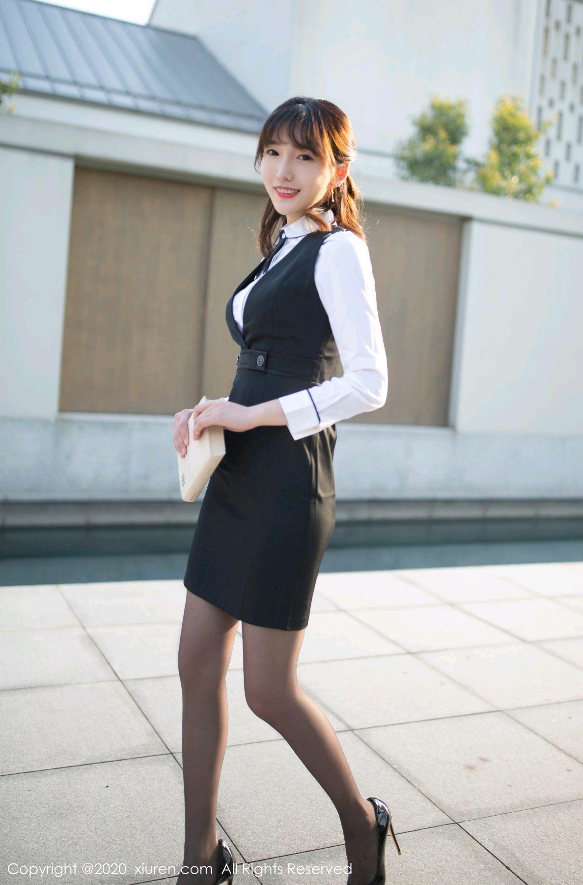 [XiuRen] Vol.2312 Lu Xuan Xuan 17P, Black Silk, Lu Xuan Xuan, Underwear, Xiuren