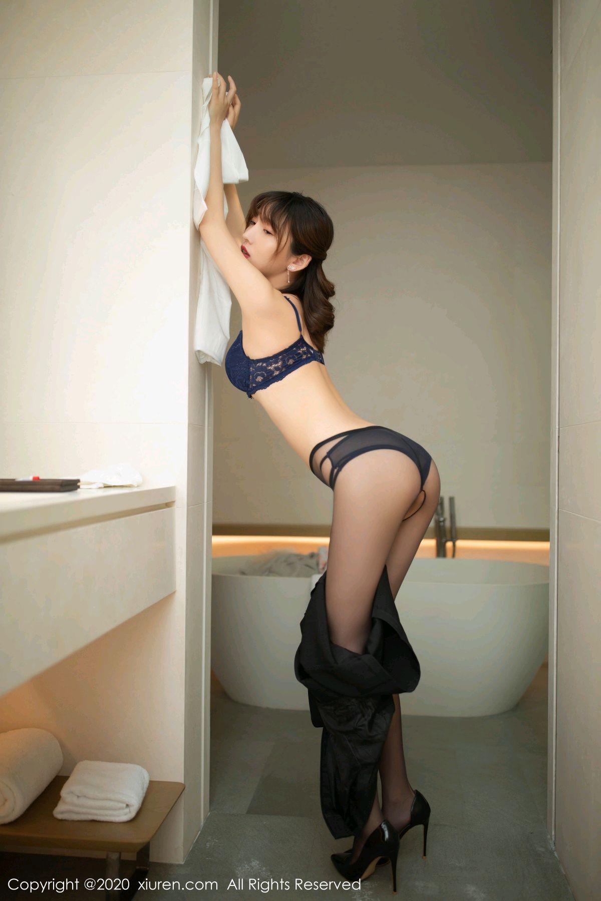 [XiuRen] Vol.2312 Lu Xuan Xuan 40P, Black Silk, Lu Xuan Xuan, Underwear, Xiuren