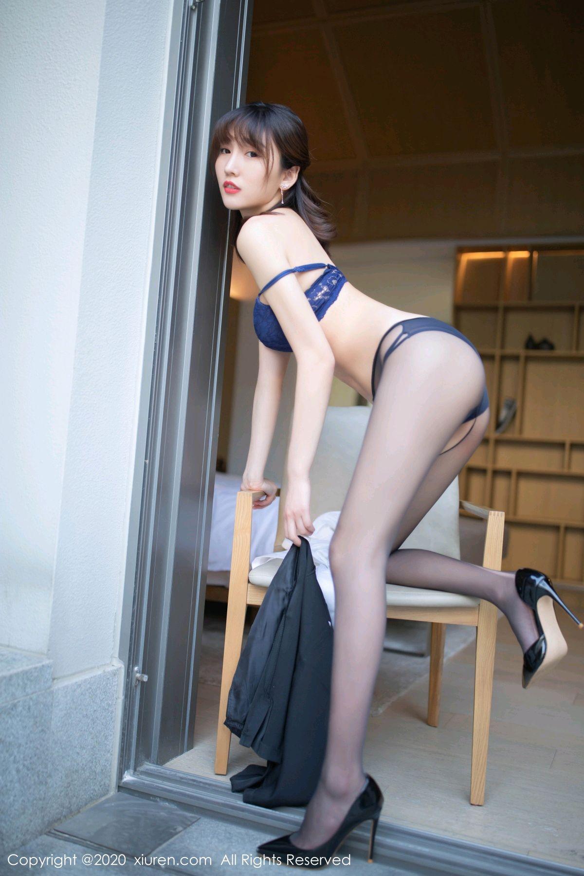 [XiuRen] Vol.2312 Lu Xuan Xuan 47P, Black Silk, Lu Xuan Xuan, Underwear, Xiuren