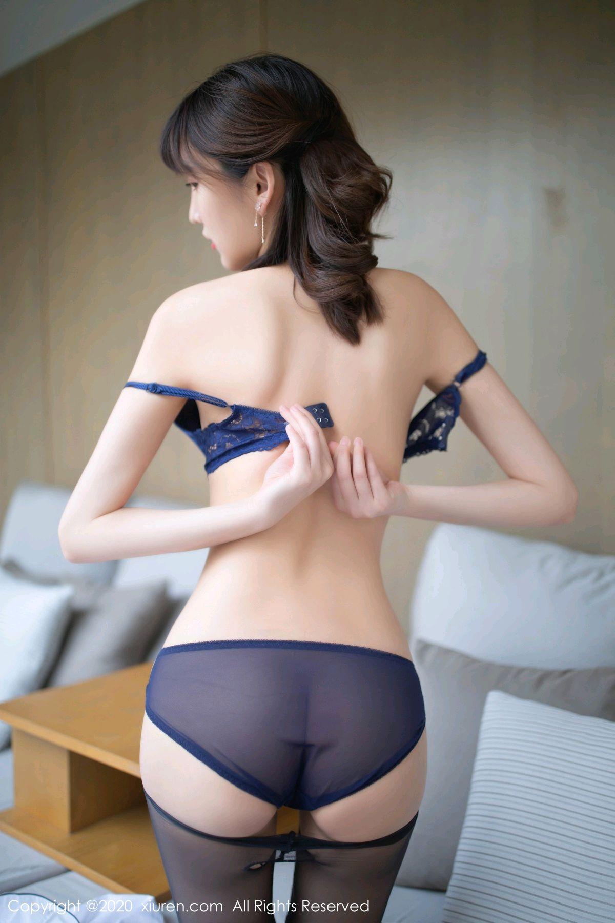 [XiuRen] Vol.2312 Lu Xuan Xuan 50P, Black Silk, Lu Xuan Xuan, Underwear, Xiuren