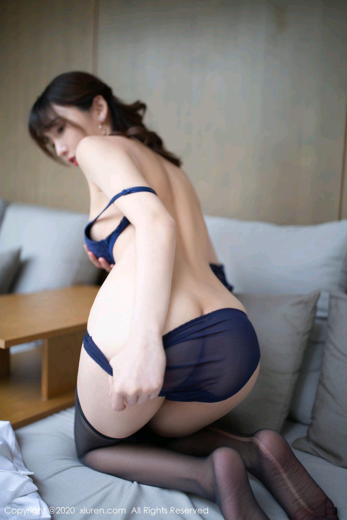 [XiuRen] Vol.2312 Lu Xuan Xuan 59P, Black Silk, Lu Xuan Xuan, Underwear, Xiuren