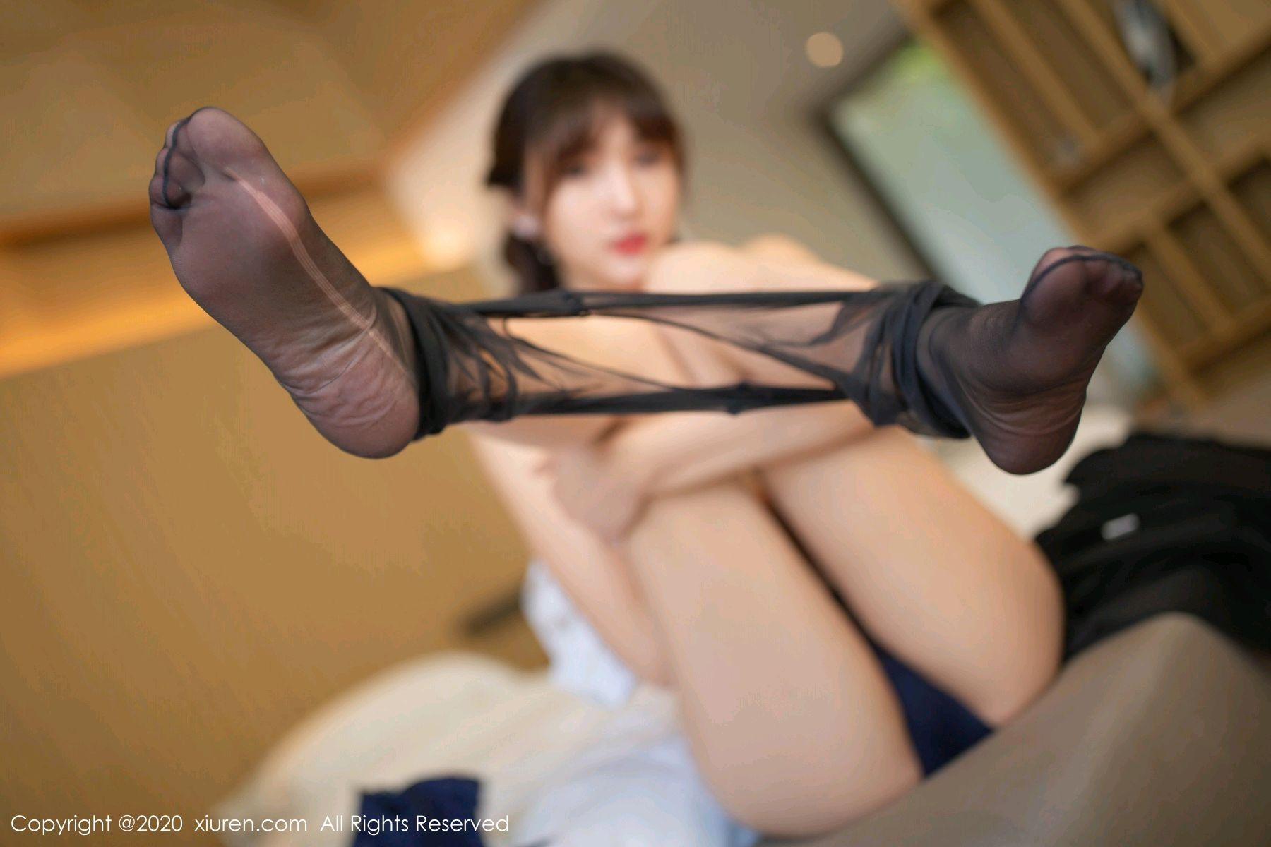 [XiuRen] Vol.2312 Lu Xuan Xuan 69P, Black Silk, Lu Xuan Xuan, Underwear, Xiuren