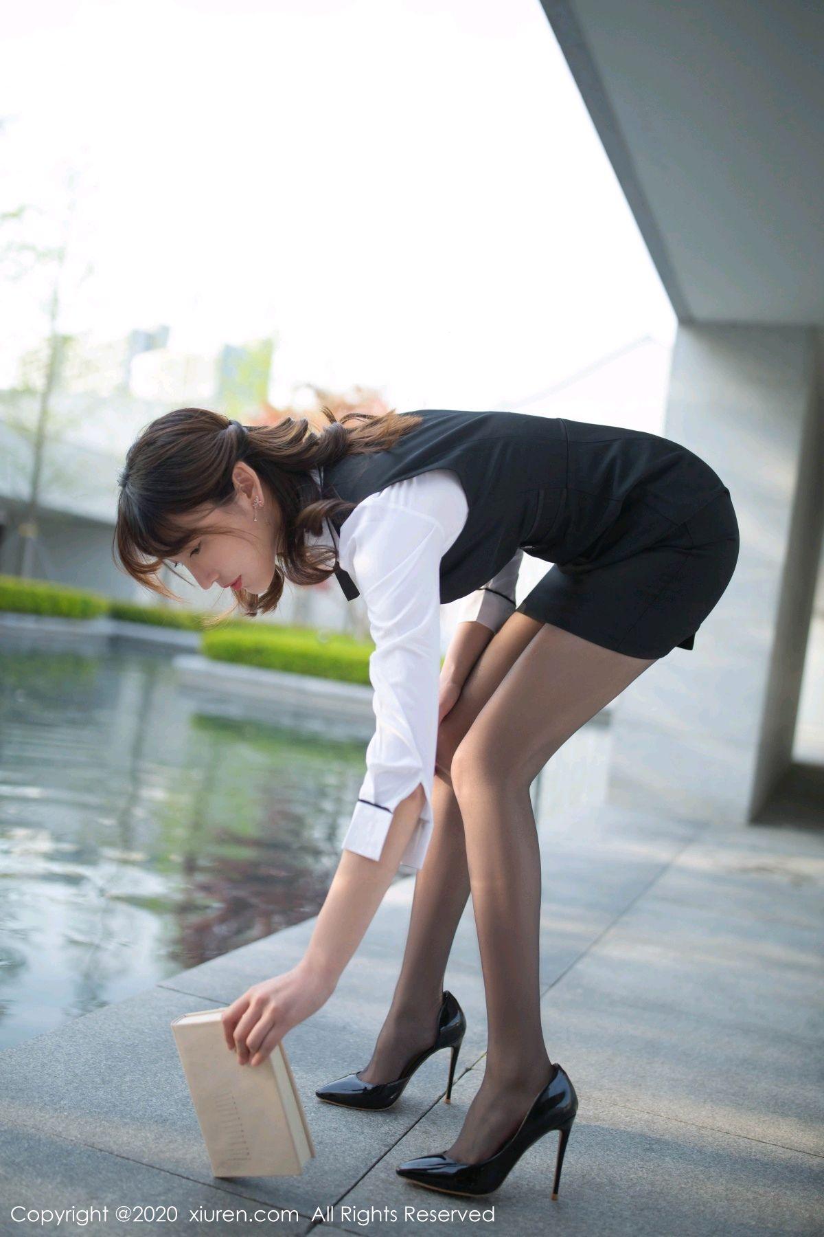 [XiuRen] Vol.2312 Lu Xuan Xuan 75P, Black Silk, Lu Xuan Xuan, Underwear, Xiuren