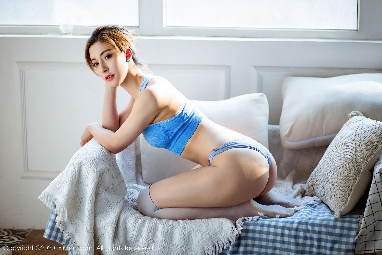 [XiuRen] Vol.2316 Lin Wen Wen 48P, Lin Wen Wen, Tall, Underwear, Xiuren