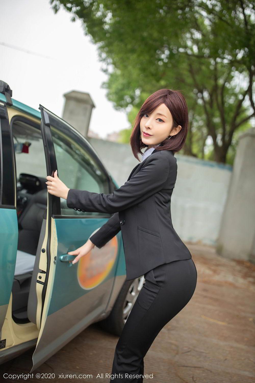 [XiuRen] Vol.2322 Chen Xiao Miao 18P, Chen Xiao Miao, Underwear, Uniform, Xiuren