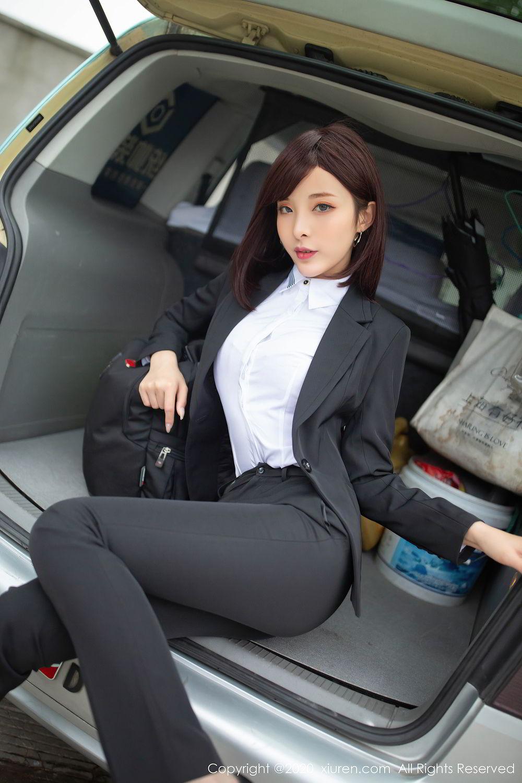 [XiuRen] Vol.2322 Chen Xiao Miao 4P, Chen Xiao Miao, Underwear, Uniform, Xiuren