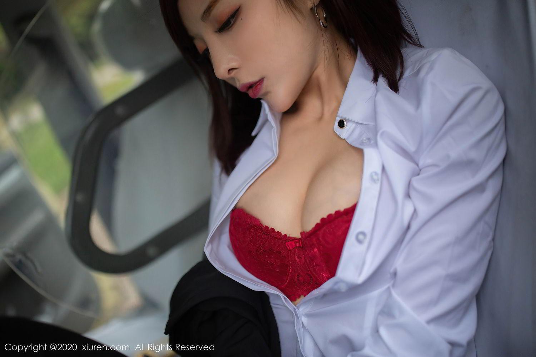 [XiuRen] Vol.2322 Chen Xiao Miao 51P, Chen Xiao Miao, Underwear, Uniform, Xiuren