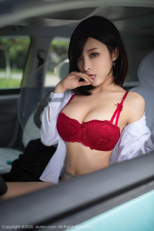 [XiuRen] Vol.2322 Chen Xiao Miao 69P, Chen Xiao Miao, Underwear, Uniform, Xiuren