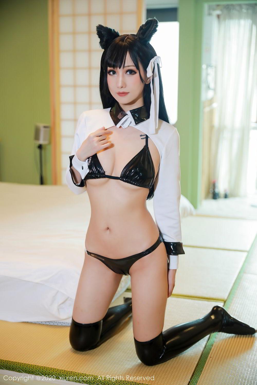 [XiuRen] Vol.2323 Bo Yuan Qing 11P, Black Silk, Bo Yuan Qing, Cosplay, Underwear, Xiuren