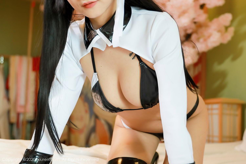 [XiuRen] Vol.2323 Bo Yuan Qing 25P, Black Silk, Bo Yuan Qing, Cosplay, Underwear, Xiuren