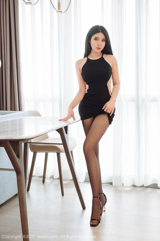 [XiuRen] Vol.2324 Shu Shu Mei Mei 10P, Black Silk, Pretty, Shu Shu Mei Mei, Xiuren