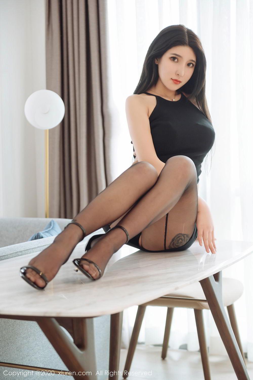 [XiuRen] Vol.2324 Shu Shu Mei Mei 13P, Black Silk, Pretty, Shu Shu Mei Mei, Xiuren