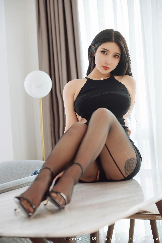 [XiuRen] Vol.2324 Shu Shu Mei Mei 14P, Black Silk, Pretty, Shu Shu Mei Mei, Xiuren