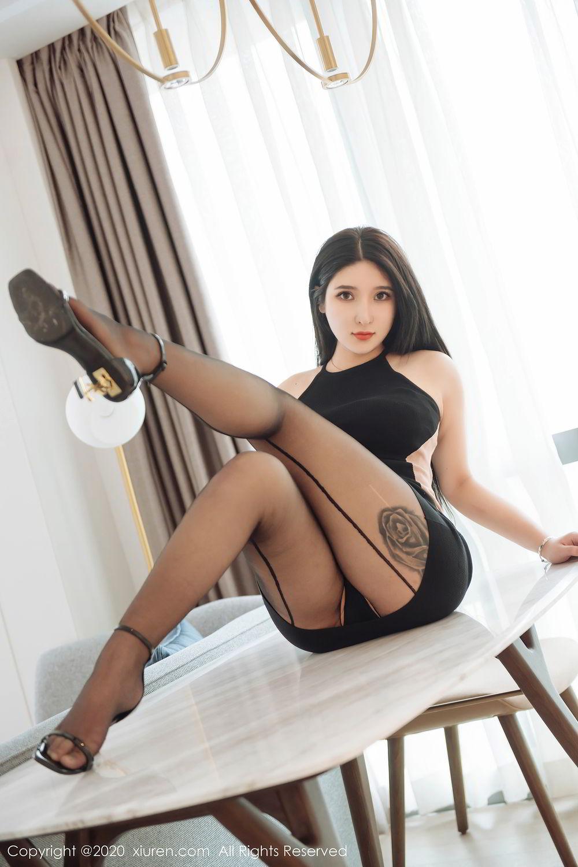 [XiuRen] Vol.2324 Shu Shu Mei Mei 19P, Black Silk, Pretty, Shu Shu Mei Mei, Xiuren