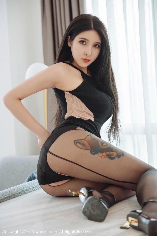 [XiuRen] Vol.2324 Shu Shu Mei Mei 20P, Black Silk, Pretty, Shu Shu Mei Mei, Xiuren