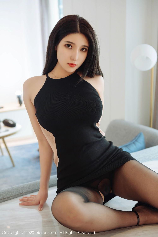 [XiuRen] Vol.2324 Shu Shu Mei Mei 24P, Black Silk, Pretty, Shu Shu Mei Mei, Xiuren