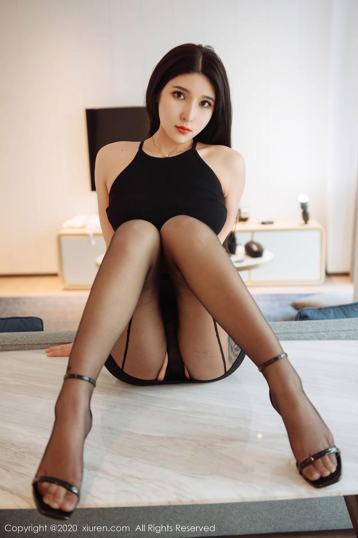 [XiuRen] Vol.2324 Shu Shu Mei Mei 25P, Black Silk, Pretty, Shu Shu Mei Mei, Xiuren