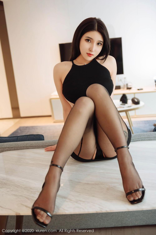 [XiuRen] Vol.2324 Shu Shu Mei Mei 26P, Black Silk, Pretty, Shu Shu Mei Mei, Xiuren