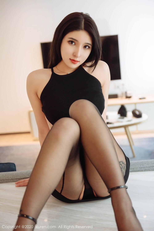 [XiuRen] Vol.2324 Shu Shu Mei Mei 27P, Black Silk, Pretty, Shu Shu Mei Mei, Xiuren