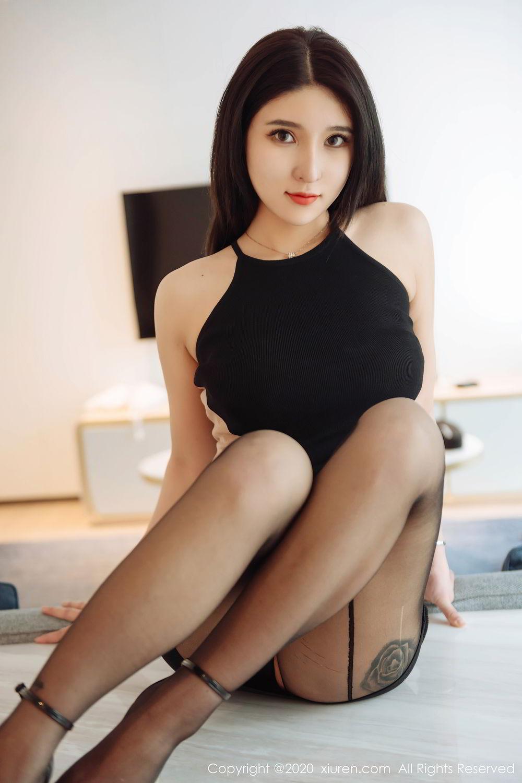[XiuRen] Vol.2324 Shu Shu Mei Mei 28P, Black Silk, Pretty, Shu Shu Mei Mei, Xiuren