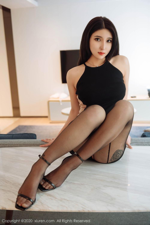 [XiuRen] Vol.2324 Shu Shu Mei Mei 29P, Black Silk, Pretty, Shu Shu Mei Mei, Xiuren