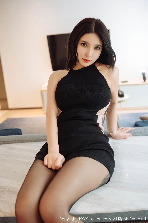 [XiuRen] Vol.2324 Shu Shu Mei Mei 33P, Black Silk, Pretty, Shu Shu Mei Mei, Xiuren