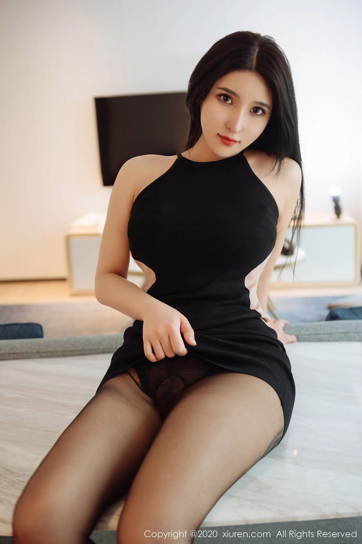 [XiuRen] Vol.2324 Shu Shu Mei Mei 35P, Black Silk, Pretty, Shu Shu Mei Mei, Xiuren