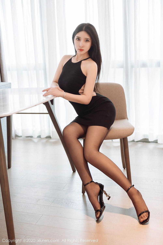 [XiuRen] Vol.2324 Shu Shu Mei Mei 36P, Black Silk, Pretty, Shu Shu Mei Mei, Xiuren