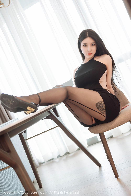 [XiuRen] Vol.2324 Shu Shu Mei Mei 41P, Black Silk, Pretty, Shu Shu Mei Mei, Xiuren