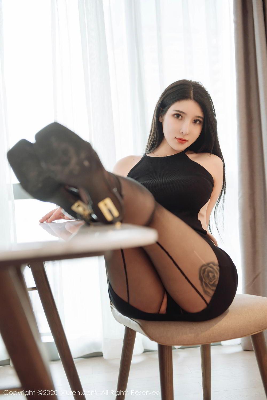 [XiuRen] Vol.2324 Shu Shu Mei Mei 42P, Black Silk, Pretty, Shu Shu Mei Mei, Xiuren