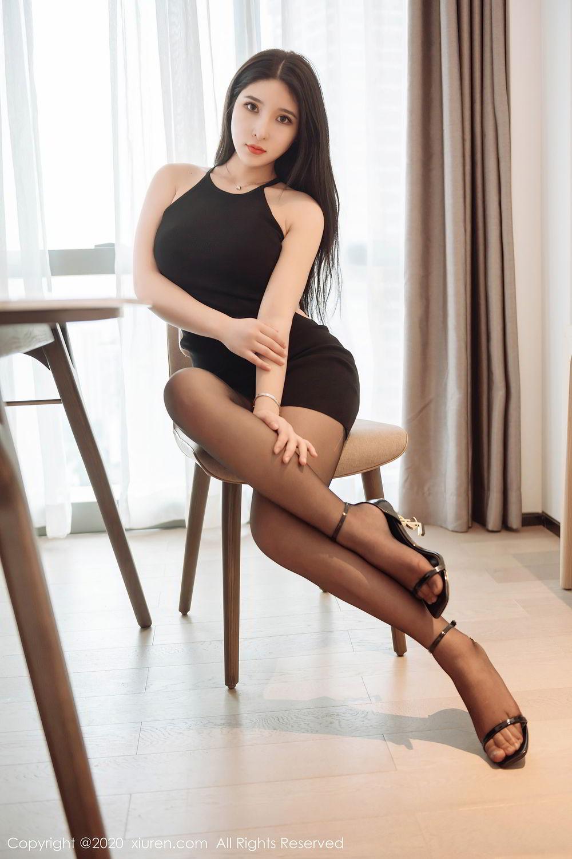 [XiuRen] Vol.2324 Shu Shu Mei Mei 44P, Black Silk, Pretty, Shu Shu Mei Mei, Xiuren
