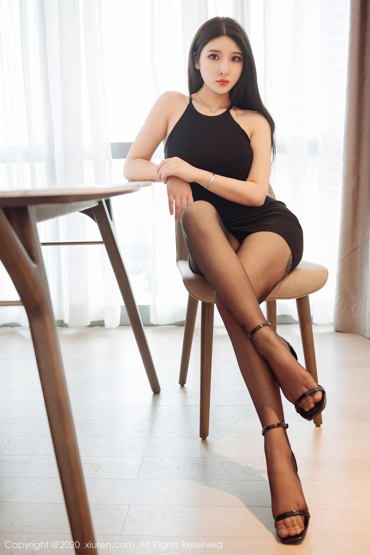 [XiuRen] Vol.2324 Shu Shu Mei Mei 46P, Black Silk, Pretty, Shu Shu Mei Mei, Xiuren