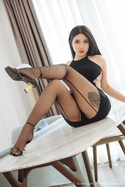 [XiuRen] Vol.2324 Shu Shu Mei Mei 51P, Black Silk, Pretty, Shu Shu Mei Mei, Xiuren
